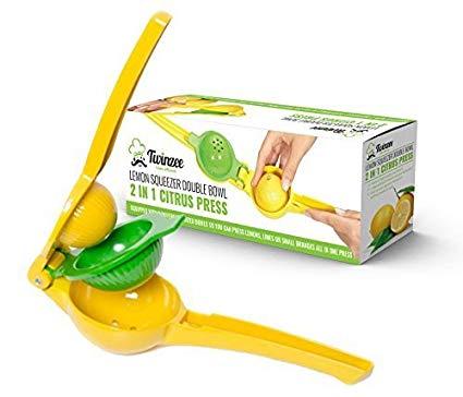 Exprimidor manual de limón Twinzee