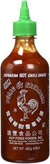 Sriracha, Hot Chili Sauce, 17oz (482g)
