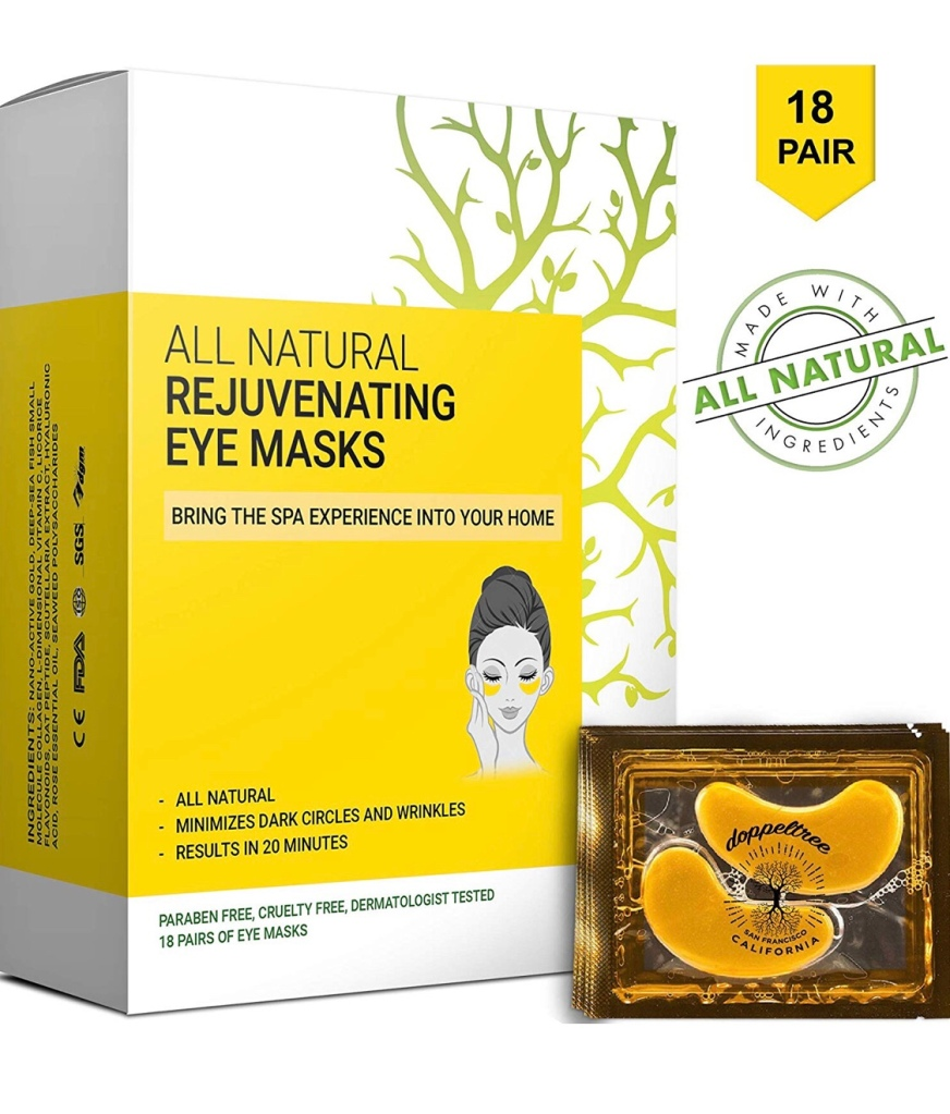 Natural collagen eye pads - 18 pair
