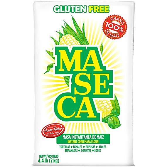 Maseca Instant Corn masa Flour - 2kg Harina de maíz nixtmalizado para hacer tortillas