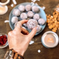 ENERGY BALLS - gluten free, sugar free, vegan