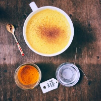 GOLDEN MILK CÚRCUMA LATTE